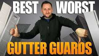 Best and Worst Gutter Guards from Lowes, Home Depot, Menards