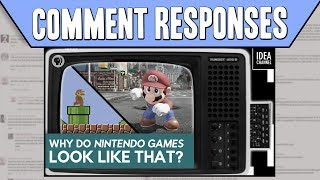 Comment Responses: Why Do Nintendo Games Look Like That? thumbnail