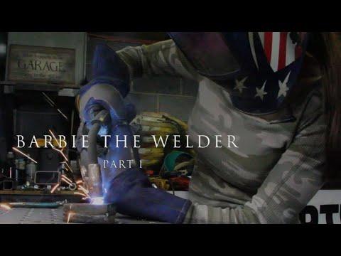 BarbieTheWelder Metal Sculptor Artist Profile Interview With The American Welding Society Part 1