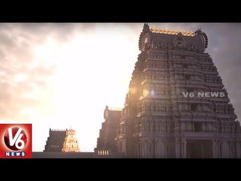 Special Report On Yadadri Sri Lakshmi Narasimha Swamy Temple Development Works | V6 News