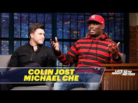 Michael Che and Colin Jost Talk About Being Co-Head Writers of SNL