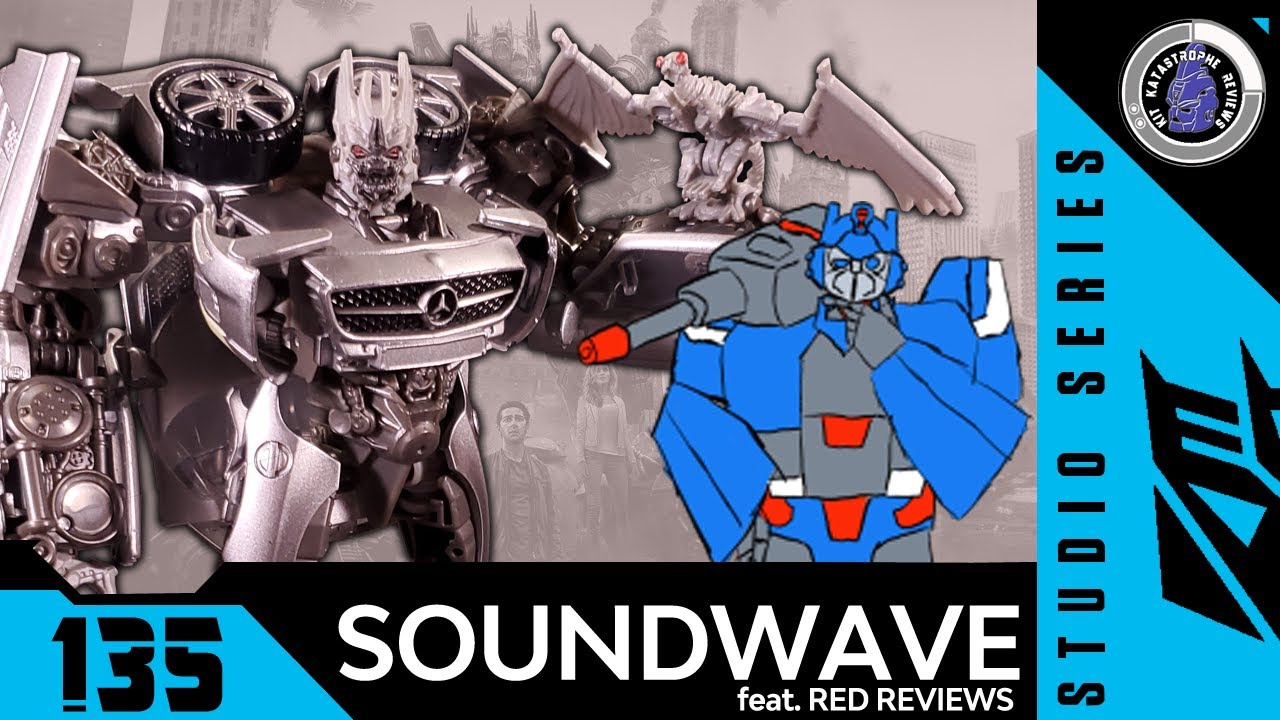Studio Series SS-51 Soundwave Review by Kit Katastrophe