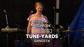 "tUnE-yArDs perform ""Gangsta"" - Pitchfork Music Festival 2014"