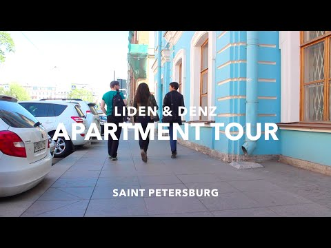 Living in St. Petersburg - discover our student flats.