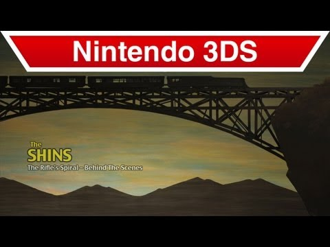 "Nintendo 3DS - The Shins ""The Rifle's Spiral""  Behind The Scenes Video"