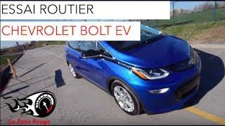 Chevrolet Bolt EV 2017 - Essai Routier - Français