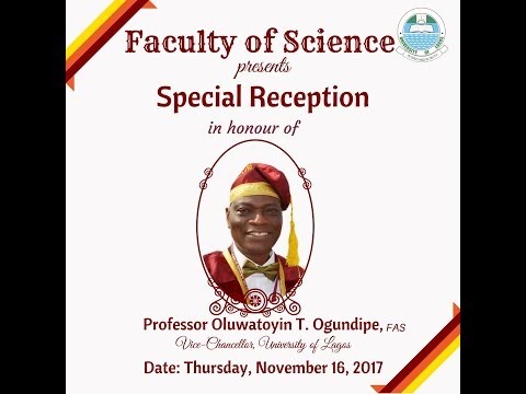 Faculty of Science honours New Vice-Chancellor