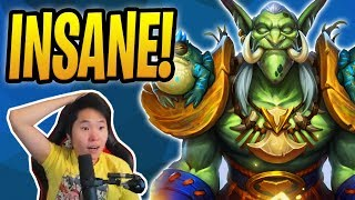 INSANE GAME w/ ZENTIMO SHAMAN! | TIL ft. Toast | Storm Bringer Shaman | Rastakhan