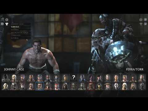 Mortal Kombat X - ALL ANIMATIONS MENU SELECT  IN JOHNNY CAGE *PART 1*