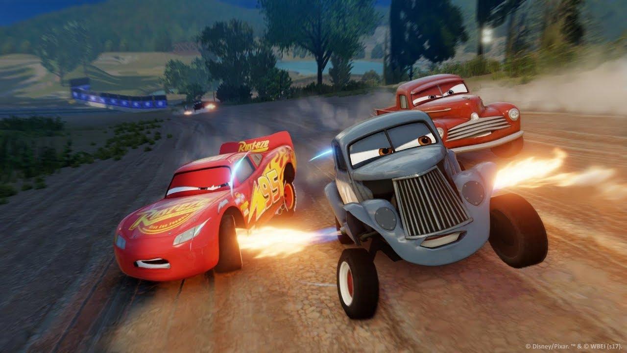 Disney Pixar Cars 3 Driven To Win Doc Amp Smokey Are Fast