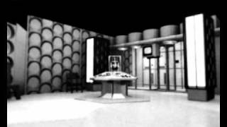 Doctor Who Hartnell TARDIS Control Room 3D Render in Blender
