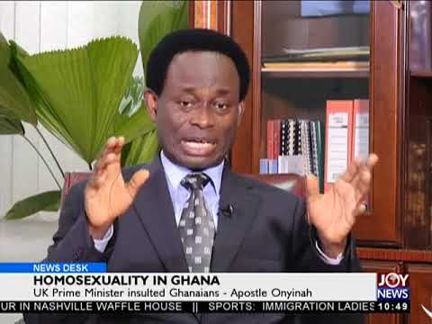 Homosexuality In Ghana - News Desk on JoyNews (23-4-18)