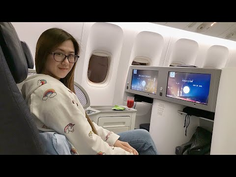 Vlogmas Day 23 - Flying Business with Kuwait Airways Boeing 777-300er to the Philippines!