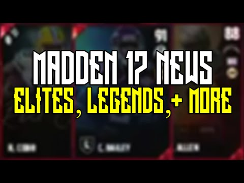MUT 17 Elites, New Legends, Signature Cards & More | Madden Ultimate Team 17 News