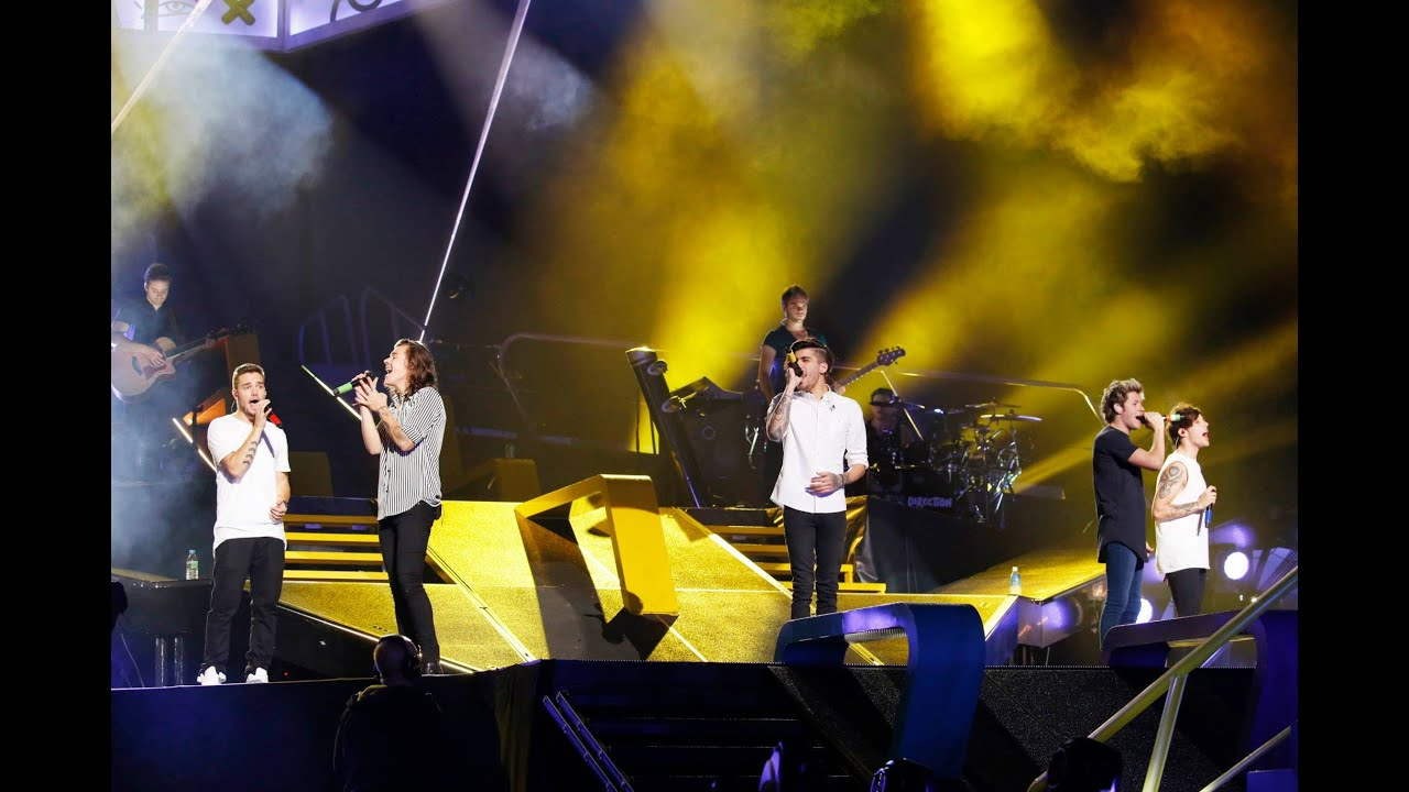 One Direction 'Where We Are' Live from San Siro Stadium ...