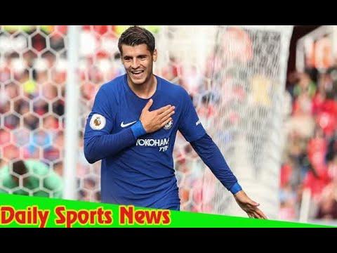 Download Stoke City 0-4 Chelsea: Morata hat-trick earns easy win
