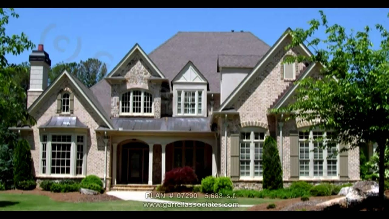 FRENCH COUNTRY HOUSE PLANS PART 1 BY GARRELL ASSOCIATES, INC. MICHAEL W.  GARRELL GA 52   YouTube