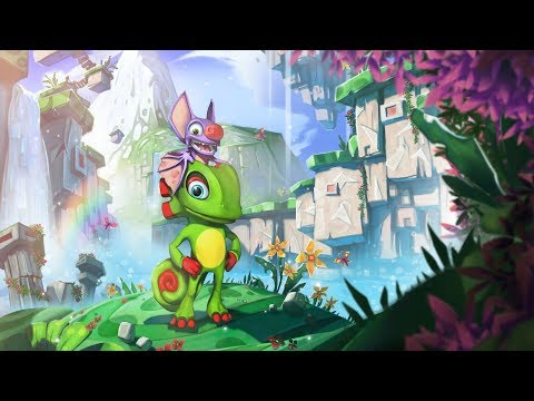 Yooka Laylee • 4K UHD Starting Block Gameplay • PC |