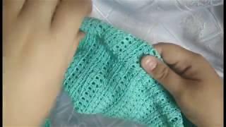 Уроки вязания крючком. Вязание по кругу. Поворотные ряды.