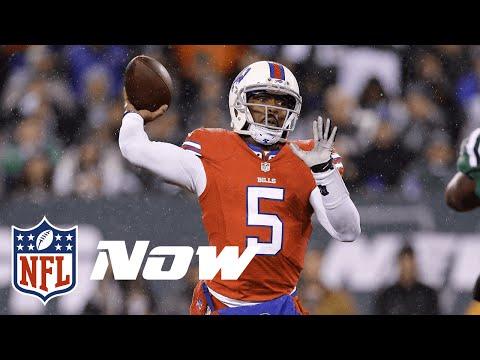 Bills vs. Jets Highlights in 60 Seconds (Week 10)   Thursday Night Football