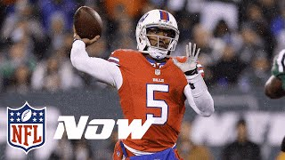 Bills vs. Jets Highlights in 60 Seconds (Week 10) | Thursday Night Football