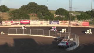Kennedale Speedway Park Sprint Car Crash