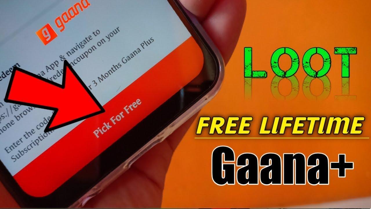 Gaana Plus LifeTime FREE😱😱 Subscription | How to Get FREE Lifetime Gaana+  Premium!! ADVANCE INDIA