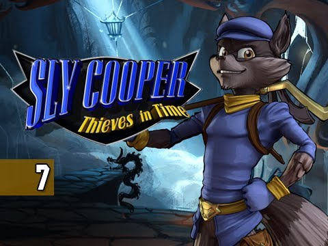 Sly Cooper Thieves in Time Walkthrough - Part 7 Dancing Murray PS3 Sly 4 Gameplay Commentary