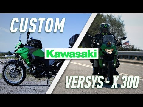 Outfitting The 2017 Kawasaki Versys-X 300 | TwistedThrottle.com