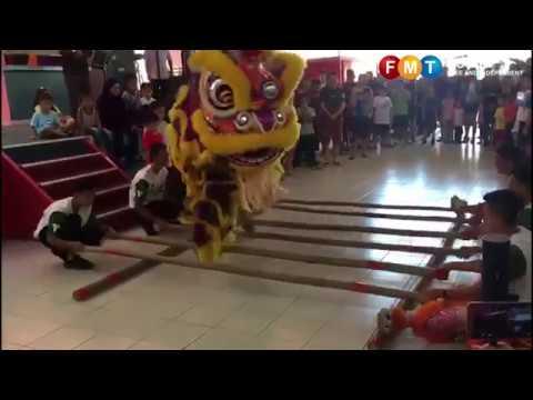 butLion magunatip dance wows the crowd in Sabah
