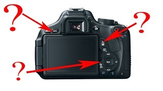 Canon Rebel Buttons Explained! (t3i)