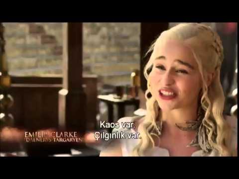 Game of Thrones 5. sezon - Kamera arkası(behind the scenes) - Türkçe altyazı