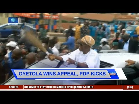Political Round-Up: Oyetola Wins Appeal, PDP To Challenge Judgement |Politics Today|