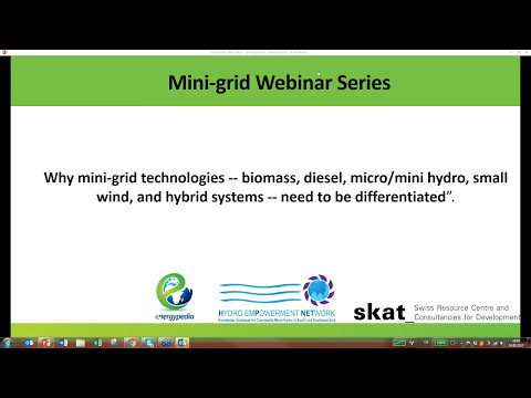 Why mini-grid technologies need to be differentiated.
