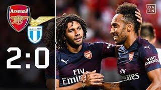 Pierre-Emerick Aubameyang trifft bei Arsenal-Sieg: FC Arsenal - Lazio Rom 2:0 | Highlights | DAZN
