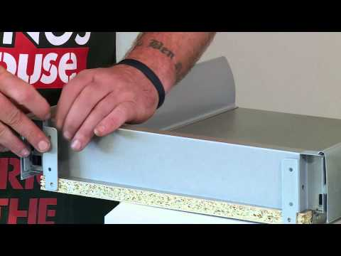 How To Install Metal Sided Cutlery Drawers - DIY At Bunnings