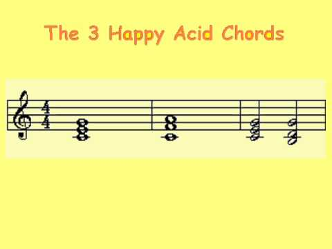 The Three Happy Acid Chords (A very simple electronic song) - YouTube