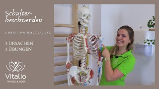 Schulterbeschwerden - Ursachen & Tipps