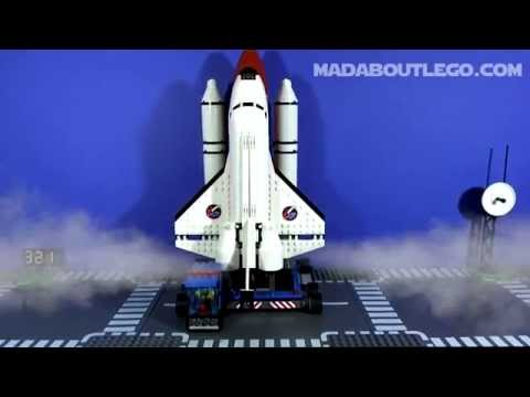 LEGO CITY SPACEPORT 60080 Build and Review