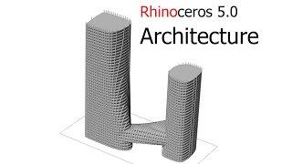 Skyscraper in Rhinoceros 5. Рино для Архитекторов