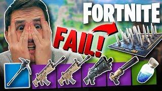 THE BIGGEST FAIL EVER! - FORTNITE