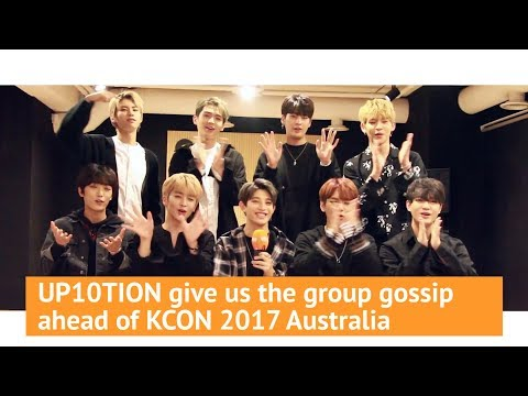 UP10TION give us the group gossip ahead of KCON 2017 Australia