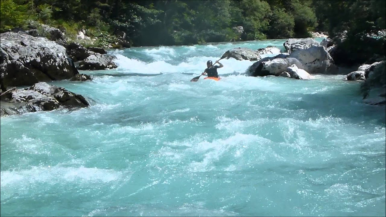 Whitewater Kayaking Soca 2012