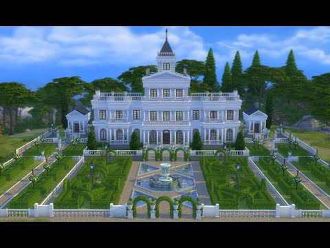 Renaissance Manor Sims 4 - House Tour showcase