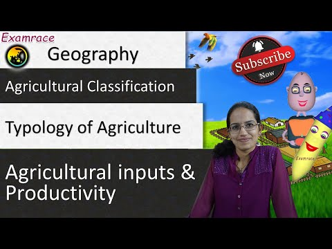 Agricultural Regions and Systems: Fundamentals of Geography