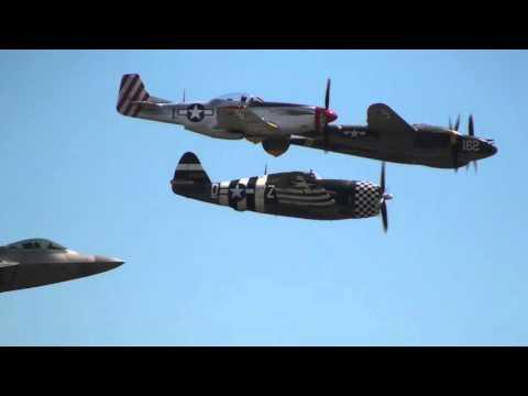 Heritage Flight dedicated to Brig. General Robin Olds version