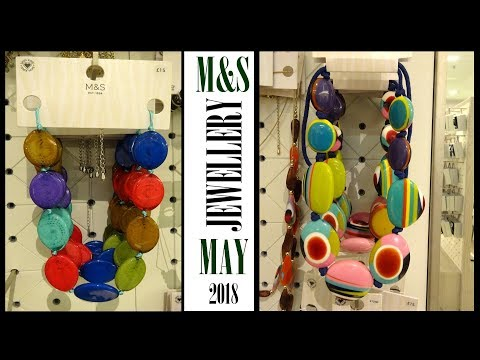 👍 M&S   Marks And Spencer   Ladies Jewellery   Spring Summer   May 2018   Walkthrough