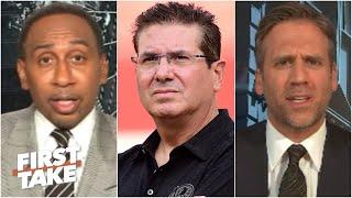 First Take debates if Dan Snyder will change the Washington Redskins' name