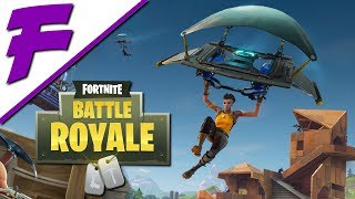Fortnite Battle Royale - Wo landen? - Gameplay Let's Play Deutsch