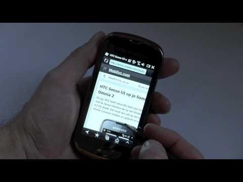 Samsung Giorgio Armani Samsung Smartphone (B7260), hands-on
